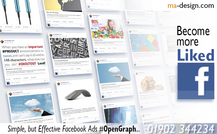 Our most recent Facebook OpenGraph Advert